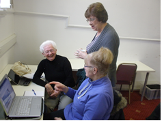 Dorothy West is a great fund of practical how to when it comes to comouters and ipads.. we couldn't manage without her help!