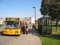 many members use the No 15 bus route on a regular basis