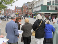 forum members take an interest in local improvements on the market place